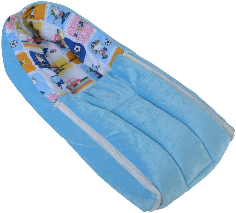 Chhote Janab 3 IN 1 BABY BED CUM Sleeping Bag(Blue) 3 IN 1 BABY BED CUM