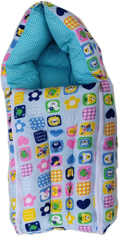 Amardeep Printed Sleeping Bag(Blue)