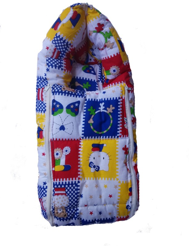 Goodluck Reversible Carry Nest Cum Sleeping Bag(Multicolor) Reversible Carry Nest Cum