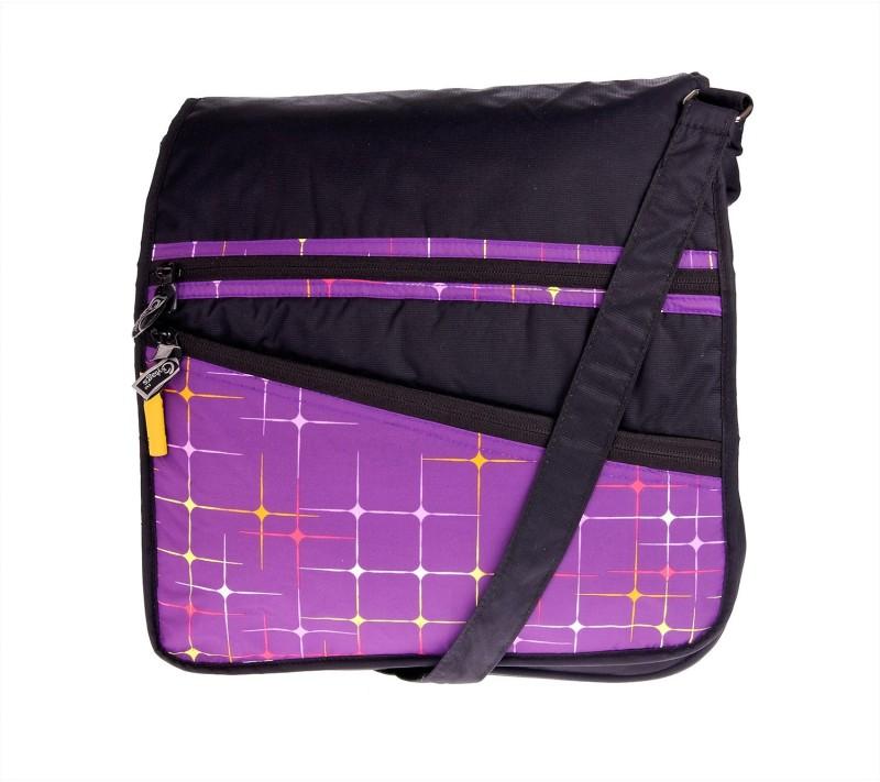 JG Shoppe Purple Messenger Bag