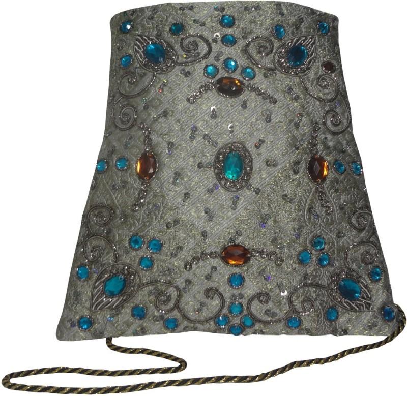 Avinash Handicrafts Silver Sling Bag