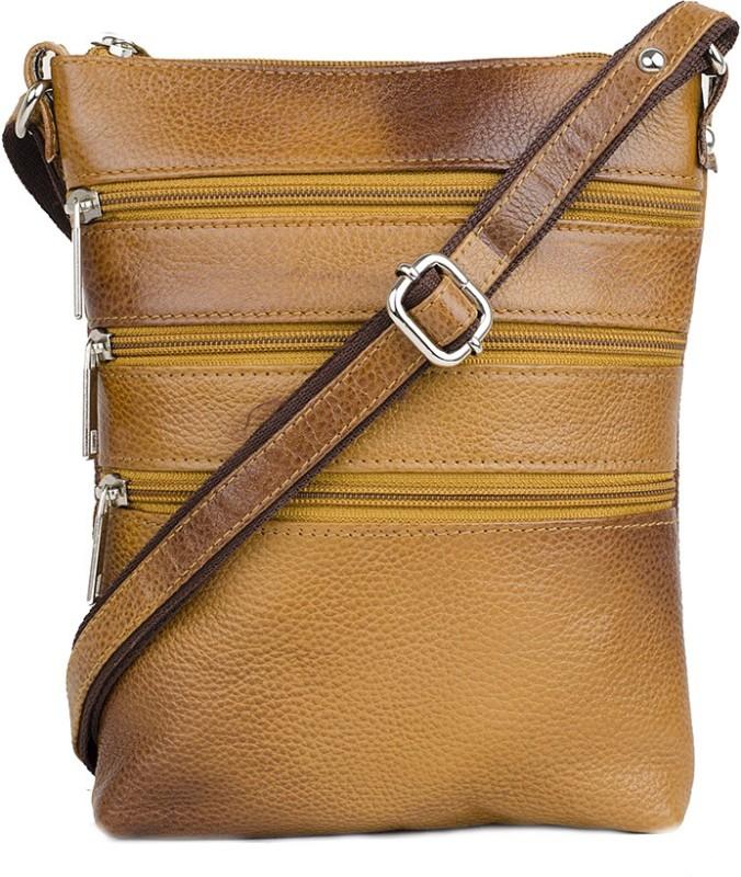 LeWIS Tan Sling Bag