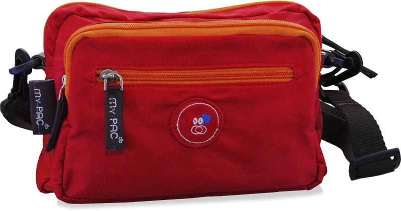My Pac Db Red Sling Bag
