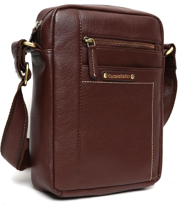 Curewe Kerien Brown Sling Bag