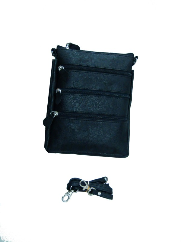 Essart Black Sling Bag