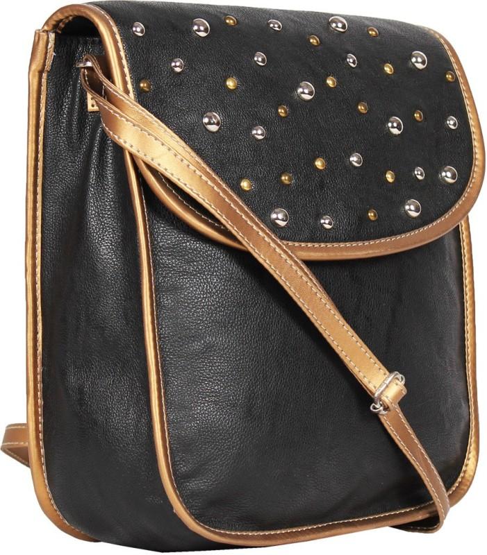 Tomas Black Sling Bag