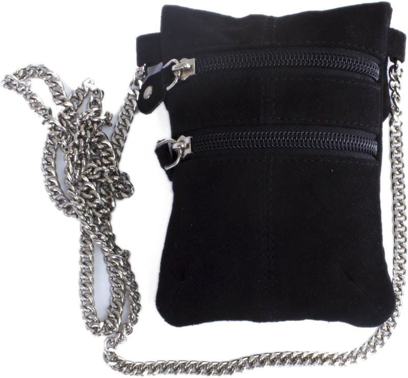 Tee Ess Black Sling Bag