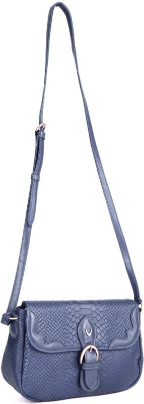 Hidesign Women Blue Sling Bag