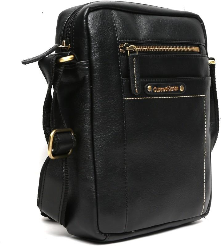 Curewe Kerien Black Sling Bag