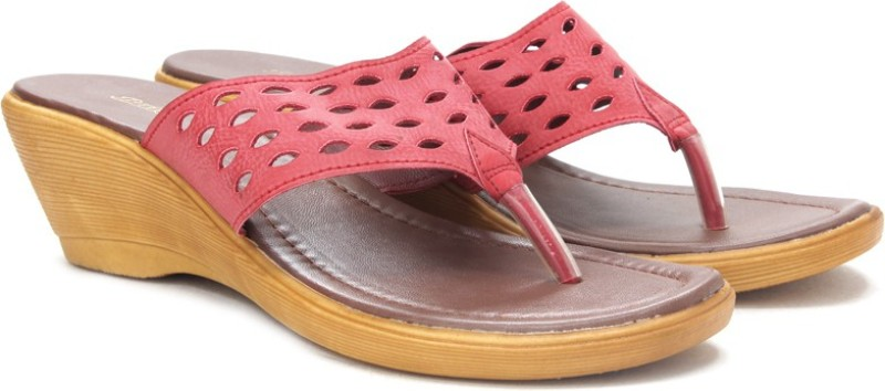 Bata Women Pink Wedges