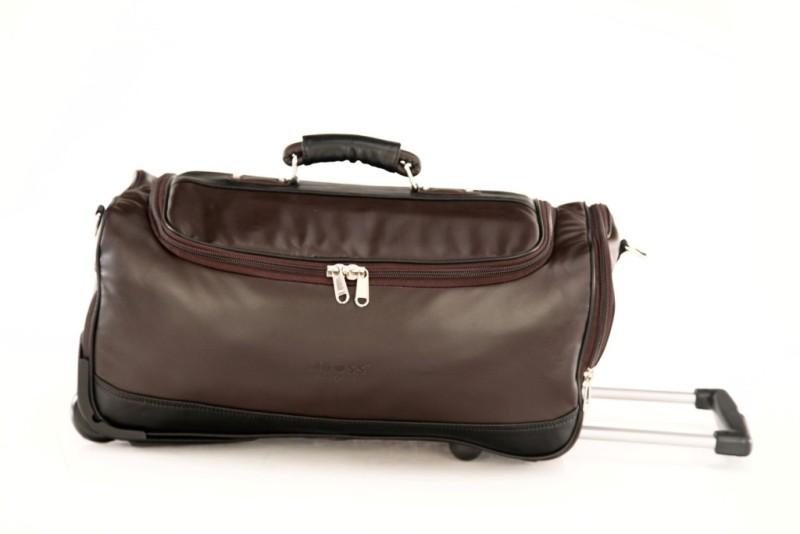 mboss-mboss-faux-leather-wheeler-travel-duffel-bag-small-travel-bag-mediumbrown