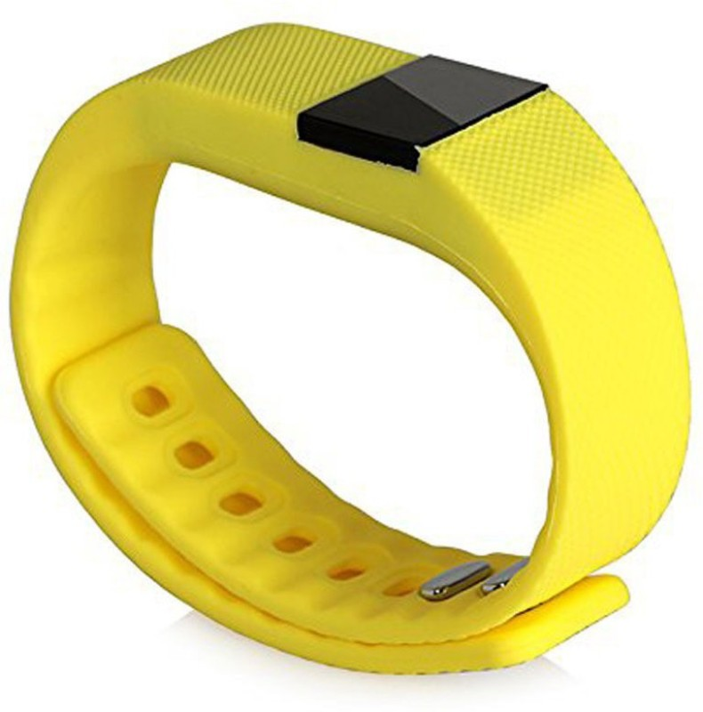 APG APGEC060 Fitness Smart Band(Yellow Strap, Size : Regular)