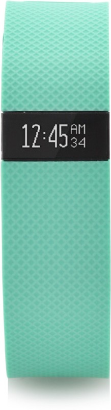 Fitbit Charge HR(Green Strap, Size : Large)