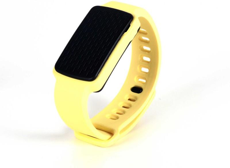 SenseGiz SAFR(Pastel Yellow Strap, Size : Regular)