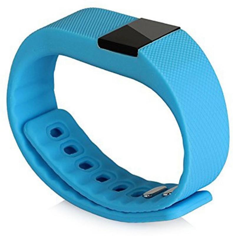 APG APGEC057 Fitness Smart Band(Blue Strap, Size : Regular)