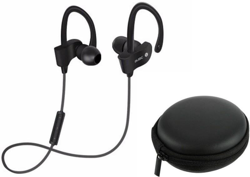 Flipfit Universal Bluetooth Music Headphone with Case 39 Smart Headphones(Wireless)