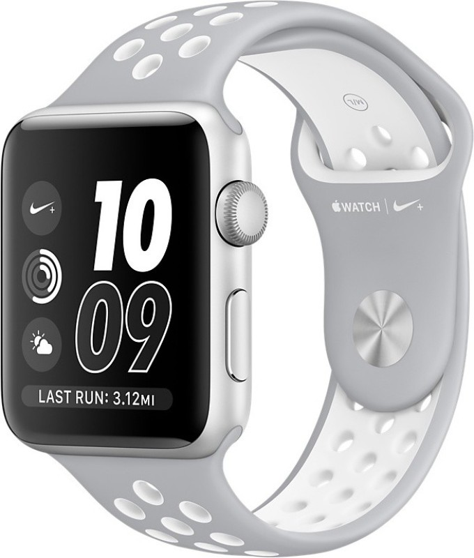 Apple Watch Nike+ - 38 mm Silver Aluminium Case with...
