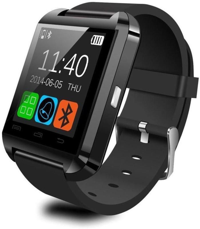 DigiMart DM-U8 Smartwatch(Black Strap Regular)
