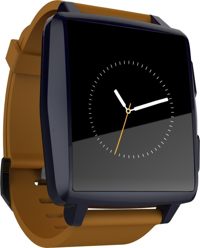 Intex IRIST PRO Smartwatch(Brown Strap Regular)