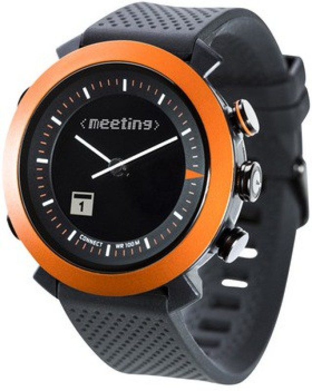 Cogito **** Smartwatch(Black Strap Regular)