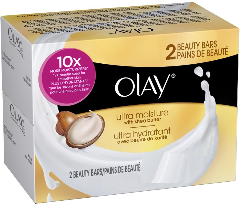 Olay ULTRA MOISTURE WITH SHEA BUTTER bar(100 g, Pack of 2)
