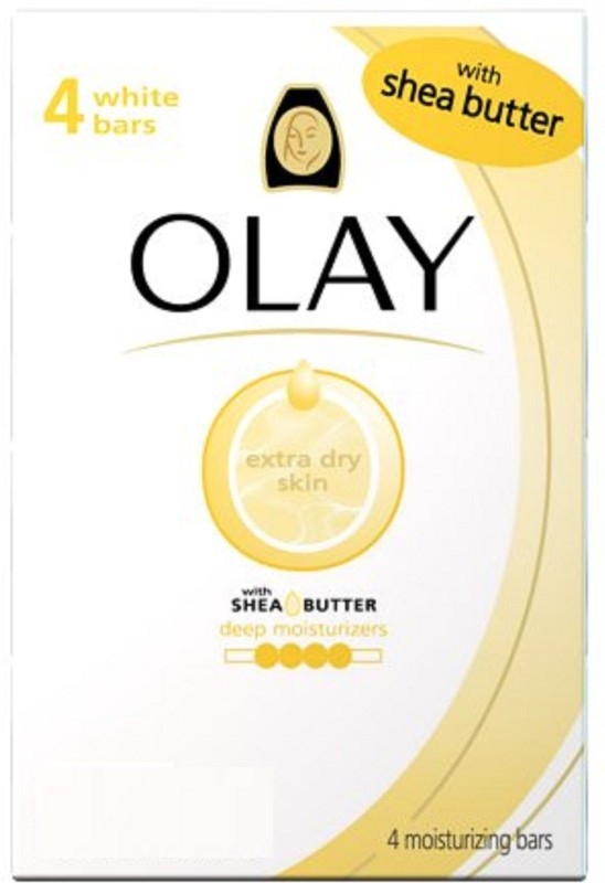 Olay Shea Butter Bar Soap(350 g, Pack of 4)