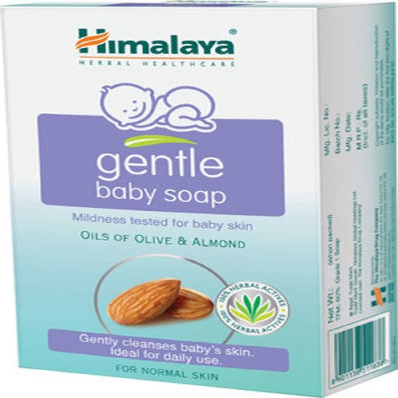 Himalaya Baby Gentle Soap -125g( Pack Of -3)(3 x 41.67 g)
