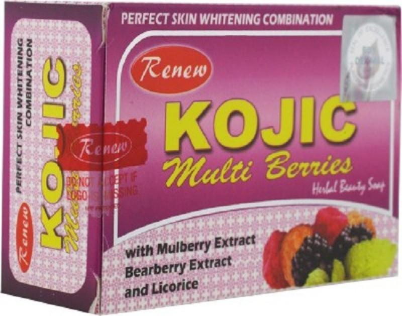 Renew Kojic Multi Berries Herbal & Skin Fairness 100% soap(135 g)
