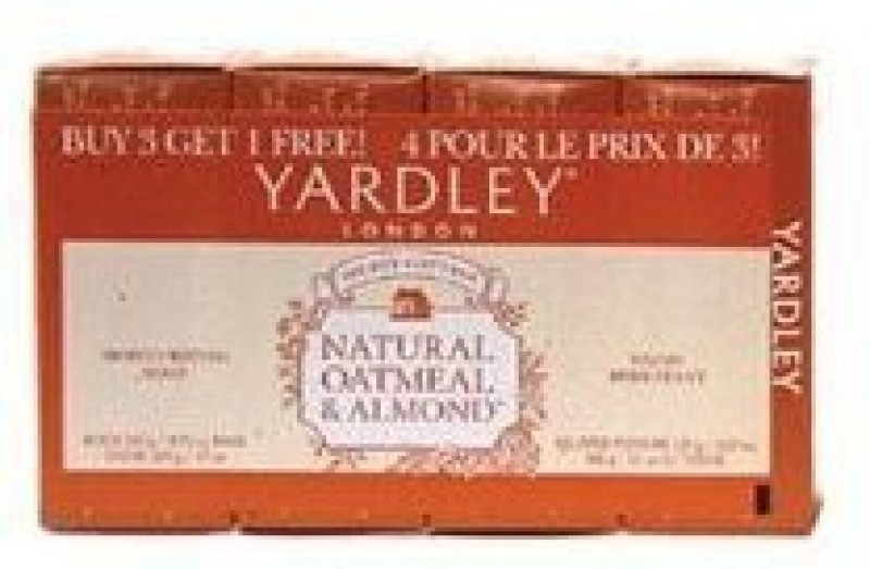 Yardley London Soap Oatmeal And Almond (Pack of 3)(127.5 ml)