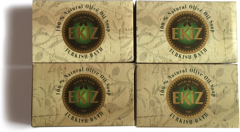 EKIZ Olive Oil Soap - Turkish Bath(4 x 45 g)