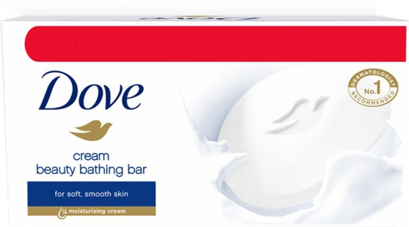 Dove Cream Beauty Bathing Bar(500 g, Pack of 5)