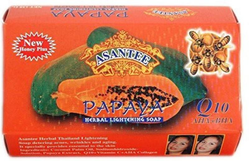 Asantee Thai Papaya Herbal Skin Whitening Soap(135 g)