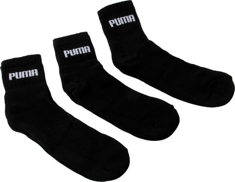 Puma Mens Solid Ankle Length Socks(Pack of 3)
