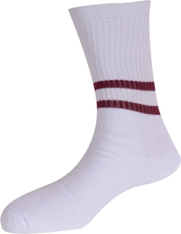 Calzini Mens Solid Crew Length Socks(Pack of 3)