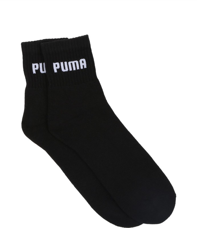 Puma Mens Solid Ankle Length Socks