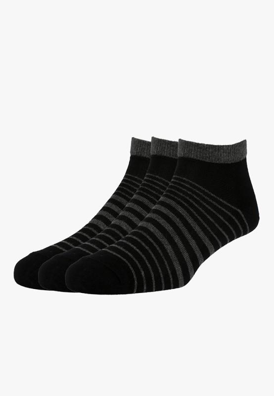 Van Heusen Mens Striped Ankle Length Socks