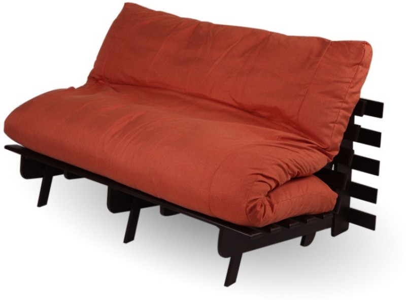 ARRA Single Fabric Futon(Finish Color - Brown Mechanism Type - Fold Out)