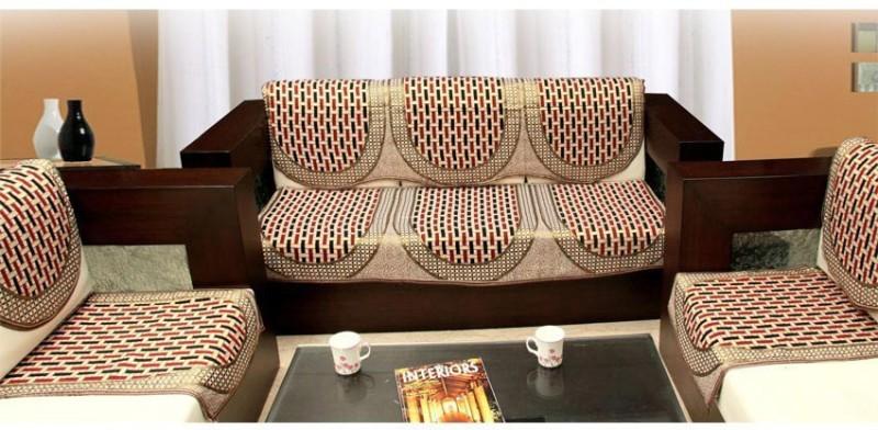 Shivkirpa KSC009 Sofa Fabric(Multicolor 27 m)