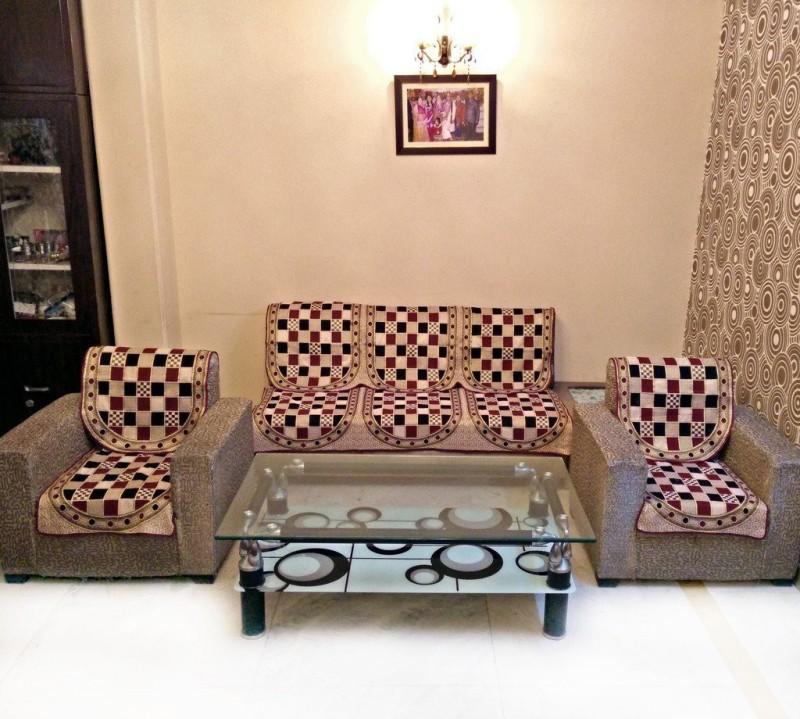 Shivkirpa SC021 SC021 Sofa Fabric(Multicolor 1.7 m)