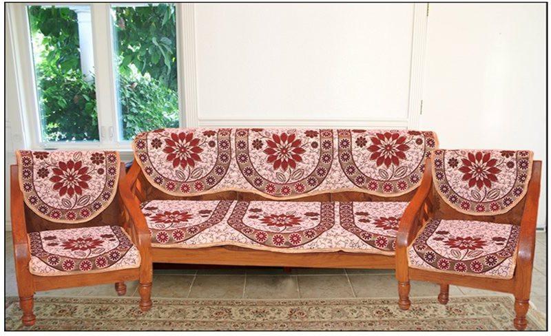 Shivkirpa KSC015 Sofa Fabric(Multicolor 27 m)