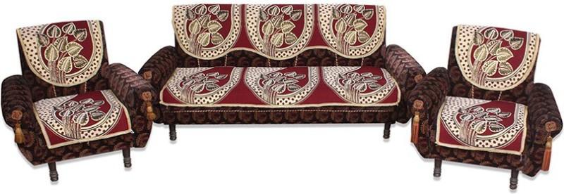 Shivkirpa KSC026 Sofa Fabric(Multicolor 27 m)