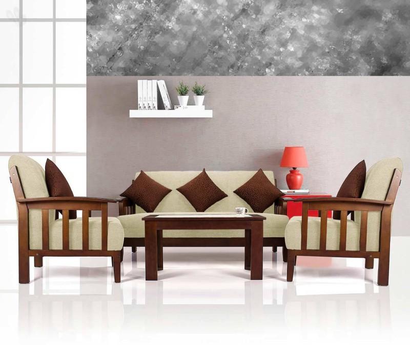Vive Dritto Fabric 3 + 1 + 1 Sofa Set