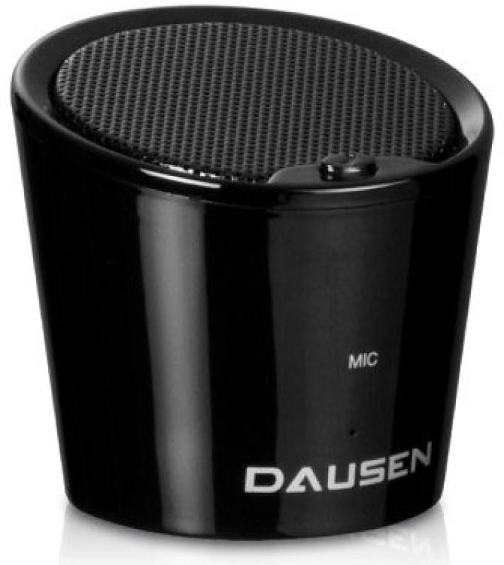 Dausen Pure Decibel Bluetooth 10 W Portable Bluetooth  Speaker(Black, Mono Channel) image