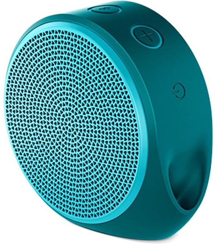 Logitech X100 1.5 W Portable Bluetooth Speaker(Green, Mono Channel)