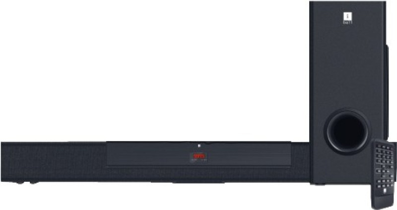 Iball Sound Bar B3 70 W Bluetooth Laptop/Desktop Speaker(Black, 2.1 Channel)