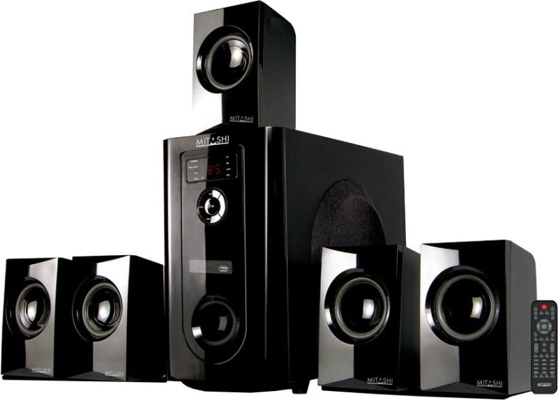 Mitashi PMPO 5.1 Ch. HT 106 BT Home Theatre System with Bluetooth Home Audio Speaker(5.1 Channel)