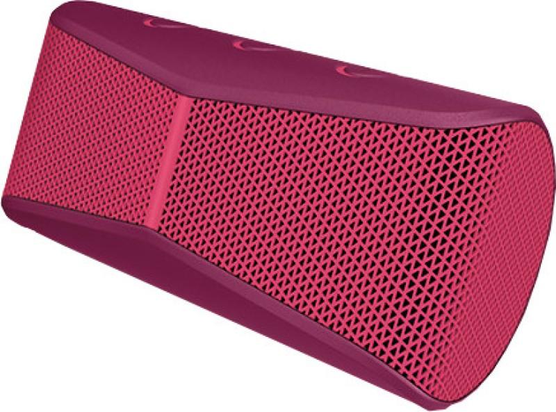 Logitech X300 Portable Bluetooth Laptop/Desktop Speaker(Red, 2.0 Channel)