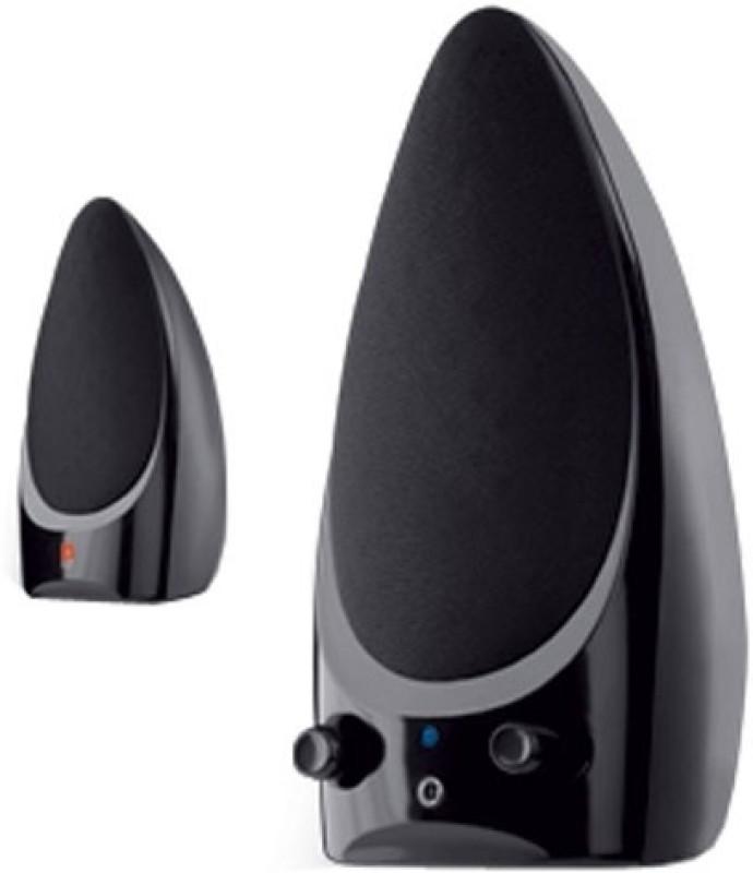 Iball i2 460 Laptop/Desktop Speaker(Black, 2.0 Channel) image
