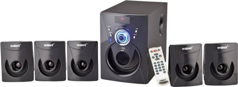 Envent DeeJay 702 BT Bluetooth Home Theatre(Black, 5.1 Channel)