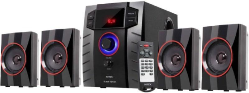 Intex IT-3005 TUF BT 60 W Portable Bluetooth Home Theatre(Black, 4.1 Channel)